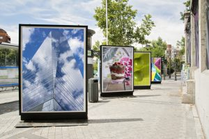 integrated marketing displays