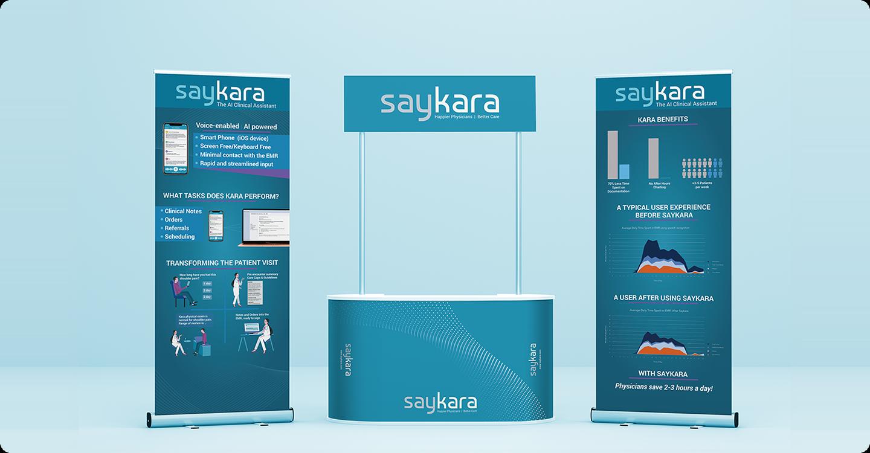 Saykara AI Health App Branding